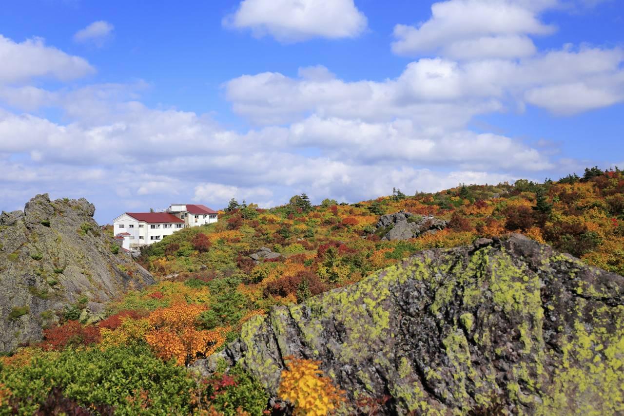 栗駒山荘周辺の紅葉